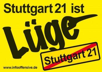Stuttgart 21 ist Lüge
