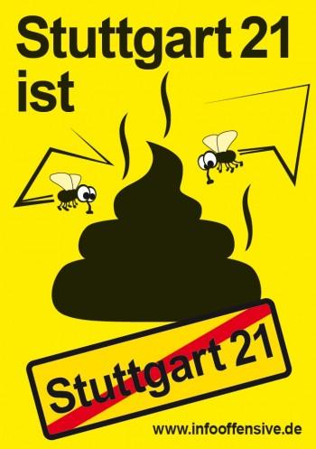 Stuttgart 21 ist-Scheisse