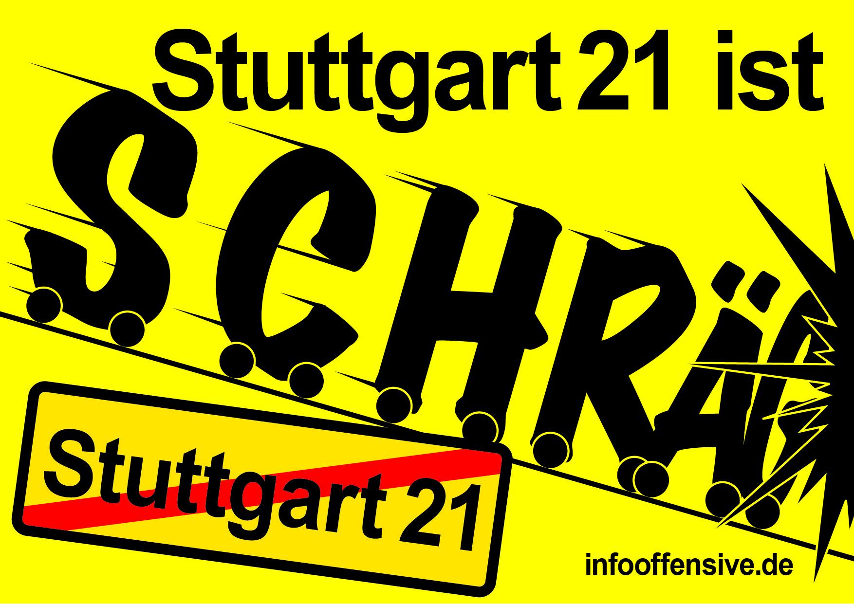 Stuttgart-21 ist schräg