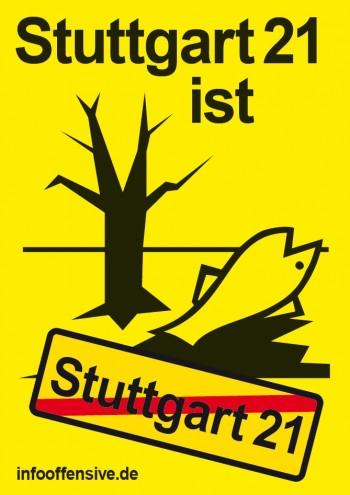 Stuttgart 21 ist umweltschädlich